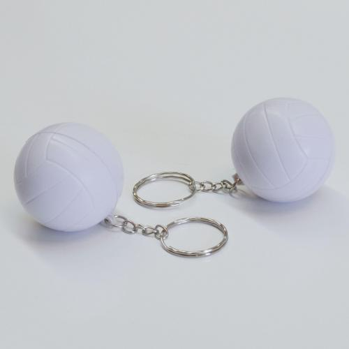 Soft VOLLEYBALL Keychain- 1 Dozen