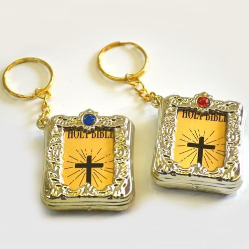 Bible- Miniature W/Key Chain 1 Dozen Card | Hayes Specialties Corp